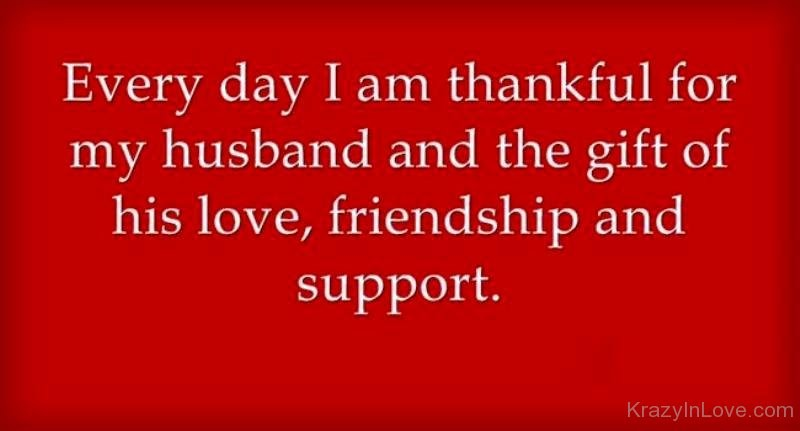 thankful for my husband