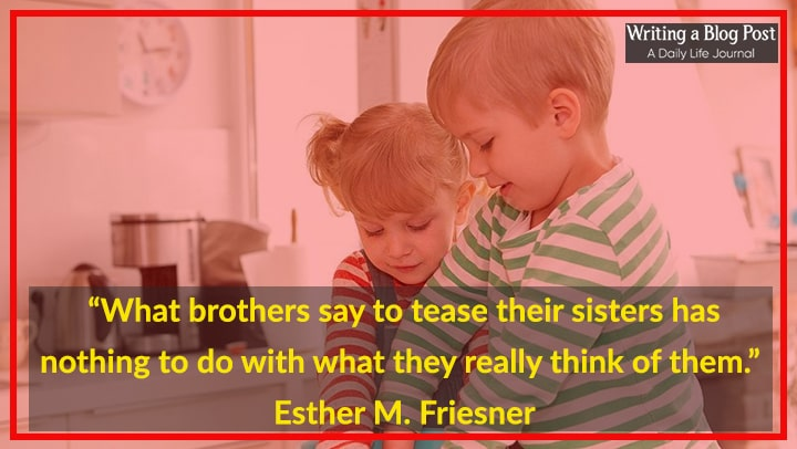 Brother Sister Quotes Brother Quotes From Little Sister